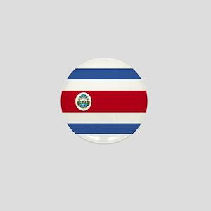Flag of Costa Rica Mini Button