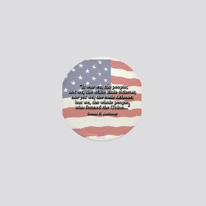 Susan B. Anthony: We The Peop Mini Button (10 pack