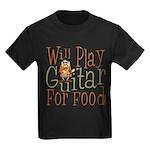 Will Play Guitar Kids Dark T-Shirt