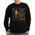 Will Play Guitar Sweatshirt (dark)