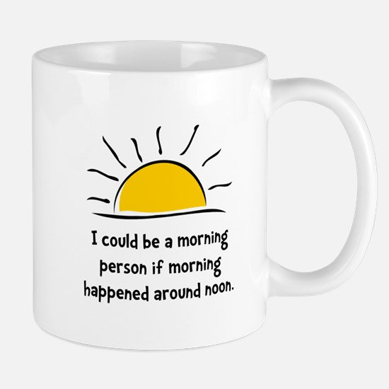Morning Person Mug
