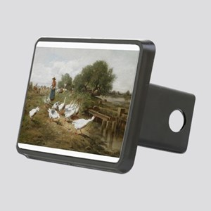 Minding the Flock Rectangular Hitch Cover