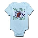Will Play Drums Infant Bodysuit