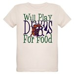 Will Play Drums Organic Kids T-Shirt