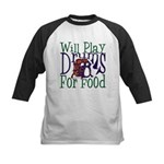 Will Play Drums Kids Baseball Jersey