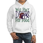 Will Play Drums Hooded Sweatshirt