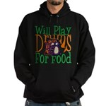 Will Play Drums Hoodie (dark)