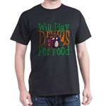 Will Play Drums Dark T-Shirt