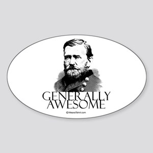 Generally Awesome - Oval Sticker