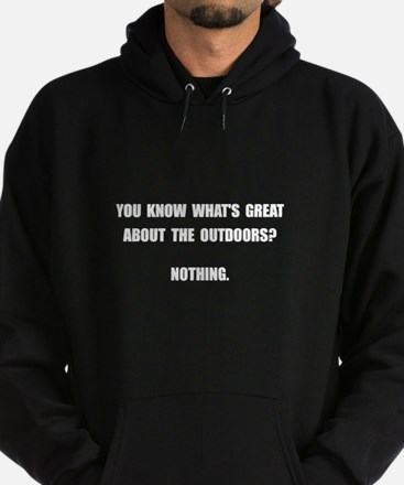 Outdoors Nothing Hoodie (dark)