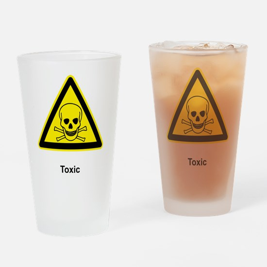 Toxic Drinking Glass