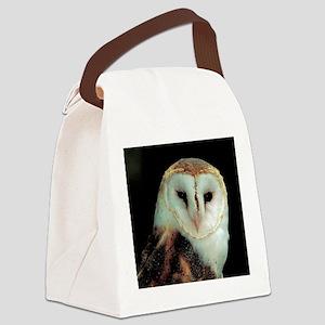 Barn Owl Canvas Lunch Bag