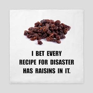 Recipe For Disaster Raisins Queen Duvet