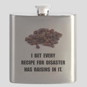 Recipe For Disaster Raisins Flask
