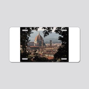 Florence Aluminum License Plate