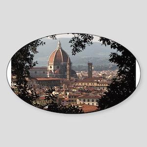 Florence Sticker (Oval)