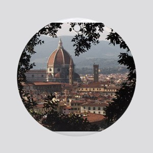 Florence Ornament (Round)