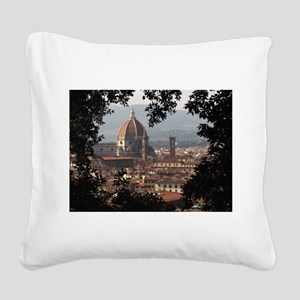 Florence Square Canvas Pillow