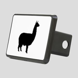 alpaca 22 black Rectangular Hitch Cover