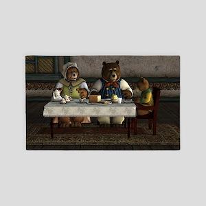 Three Bears Area Rug