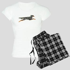 Leaping Gordon Setter Women's Light Pajamas