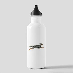 Leaping Gordon Setter Stainless Water Bottle 1.0L