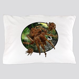 Cat face spider Pillow Case