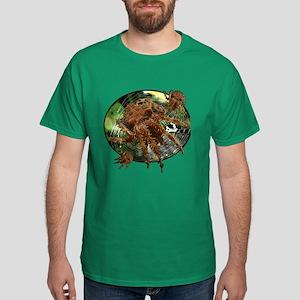 Cat face spider Dark T-Shirt