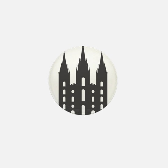Salt Lake Temple Mini Button