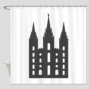 Salt Lake Temple Shower Curtain