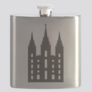 Salt Lake Temple Flask