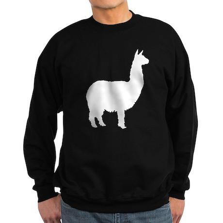 alpaca 22 white.png Sweatshirt (dark)