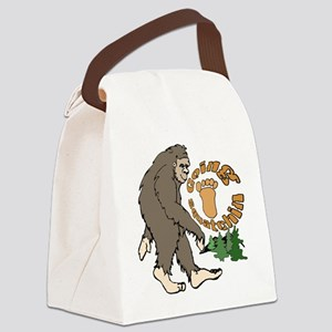 Going sqautching Canvas Lunch Bag