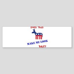Make Me Look? Sticker (Bumper)
