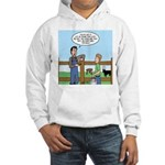 Don't Milk the Bull Hooded Sweatshirt