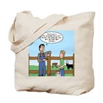 Don't Milk the Bull Tote Bag