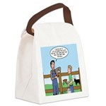 Don't Milk the Bull Canvas Lunch Bag