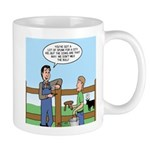 Don't Milk the Bull Mug