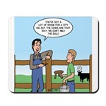 Don't Milk the Bull Mousepad