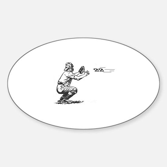 Catch 22 Sticker (Oval)