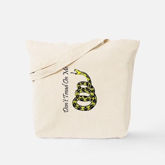 Gadsden Flag Tote Bag