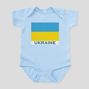 Ukraine Flag Gear Infant Creeper