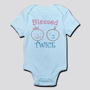 Blessed Twice Infant Bodysuit