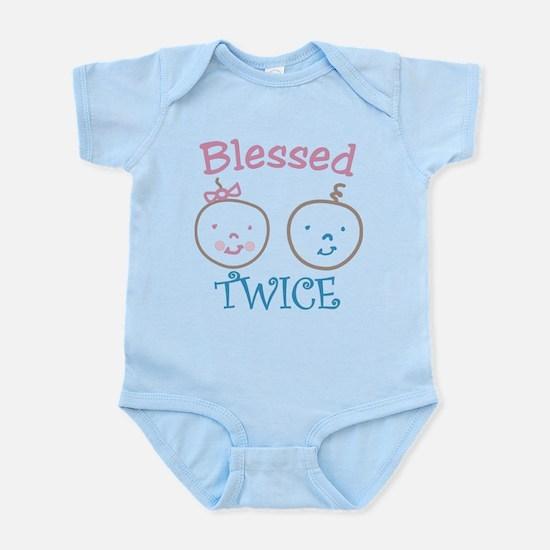 Blessed Twice Infant Bodysuit