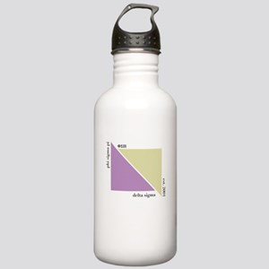 Delta Sigma Triangles Stainless Water Bottle 1.0L