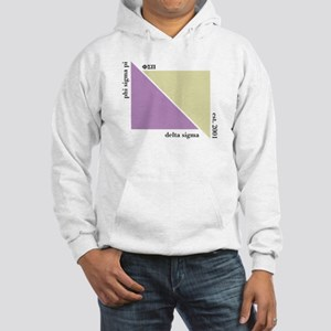 Delta Sigma Triangles Hooded Sweatshirt