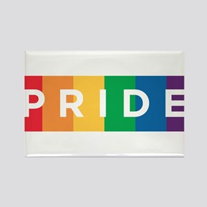 Gay Pride Rectangle Magnet