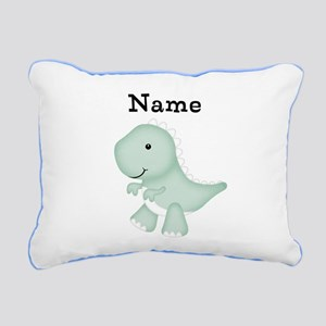Personalizable T Rex Pillow