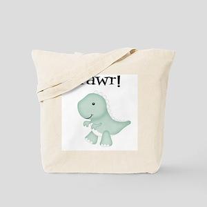 Rawr T-Rex Dinosaur Tote Bag