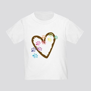 Paw Heart Toddler T-Shirt